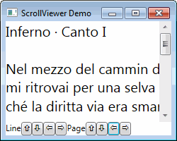 WPF ScrollViewer Control with Programmatic Scrolling